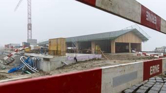 Ersatz- und Umbauten Ökonomiegebäude Bildungszentrum Wallierhof (Januar 2018)