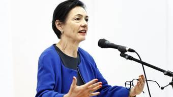 Marianne Binder, Präsidentin CVP Aargau: «Letztlich ging es um das Vertrauen gegenüber der Verwaltung und der Regierung. Und darum, dass dieses Vertrauen auf krasse Weise verletzt wurde.» (Archivbild)