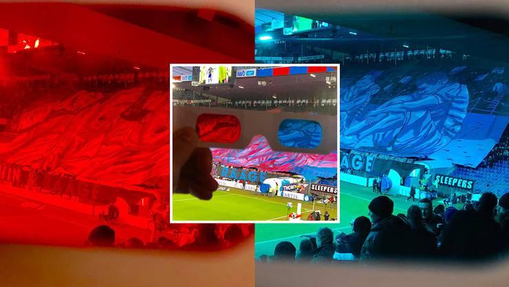 Die 3-D-Choreo der Muttenzerkurve war eines der Highlights im FCB-Jahr.