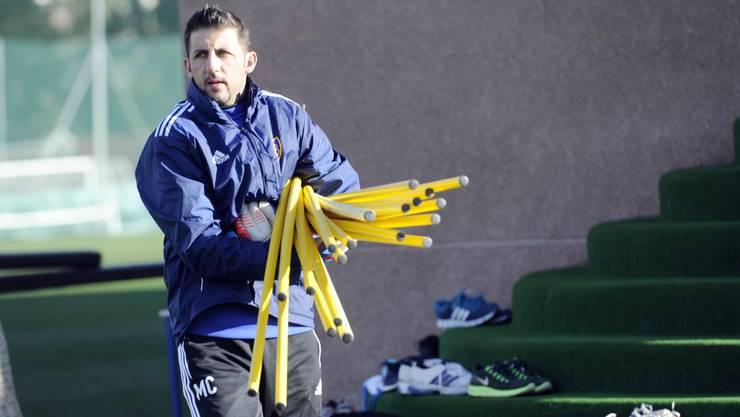 Als Goalietrainer warten neue Herausforderungen auf Massimo Colomba.