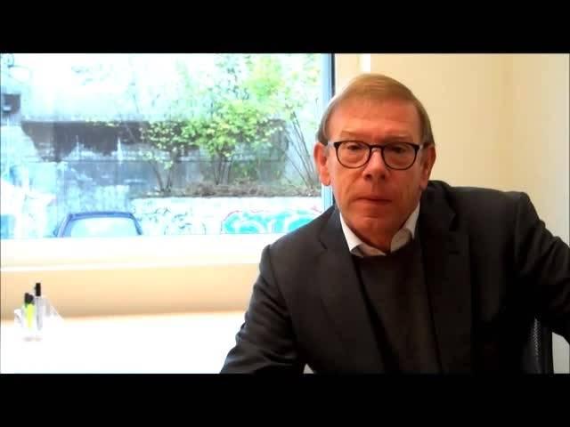 Interview Reto Cavegn im Büro des neuen Mobilitätszentrums in Schlieren