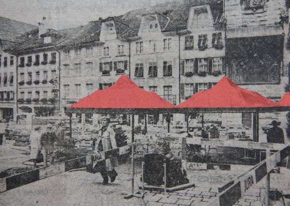 Diese Dächer in Rot sorgten für helle Empörung und viel Lesestoff in Solothurn.