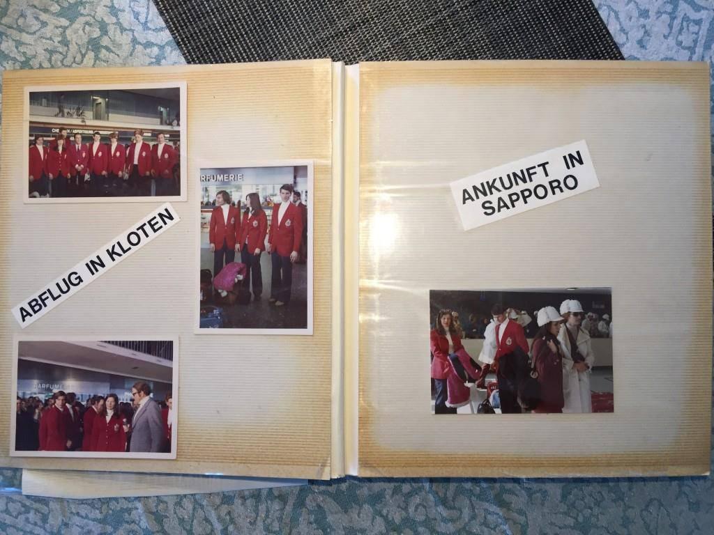 Sapporo war eines der grossen Abenteuer von Martha Bühler