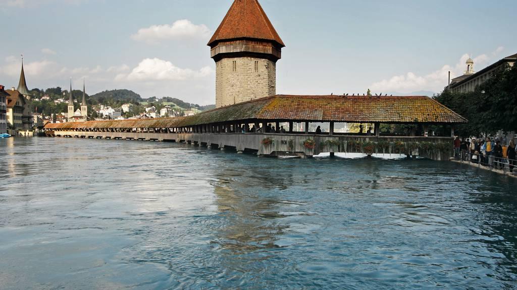 Vor 15 Jahren stand die Stadt Luzern unter Wasser