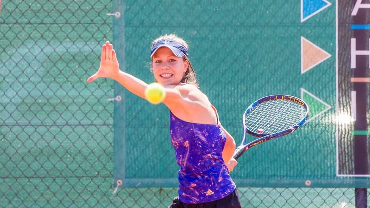 Auch bei den Juniorinnen ist die Ausgangslage offen: Shirin Paroubek darf sich Hoffnungen auf den Titel machen.