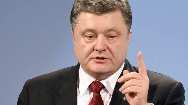 Ukrainischer Präsident Poroschenko (Archiv)