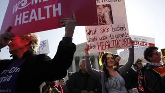Obamas Gesundheitsreform erhält Unterstützung von der Strasse