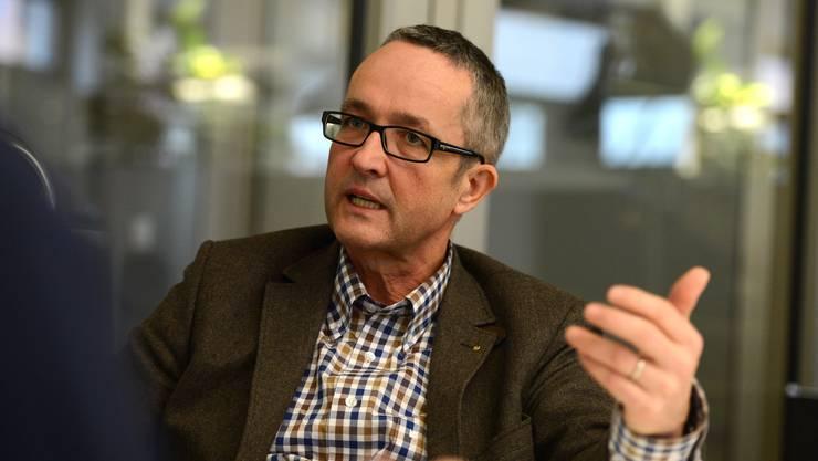 Thomas Weber wurde einstimmig zum Kandidaten für die Regierungsratswahl gewählt.