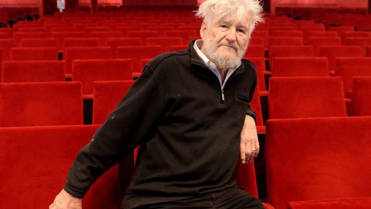 Regisseur Achim Freyer im Zuschauerraum der Volksoper in Wien am 28. Oktober 2015. (Archiv)