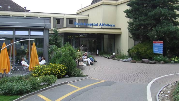 Spital Affoltern: Künftige Investitionen gefährdet? (Bild Werner Schneiter)