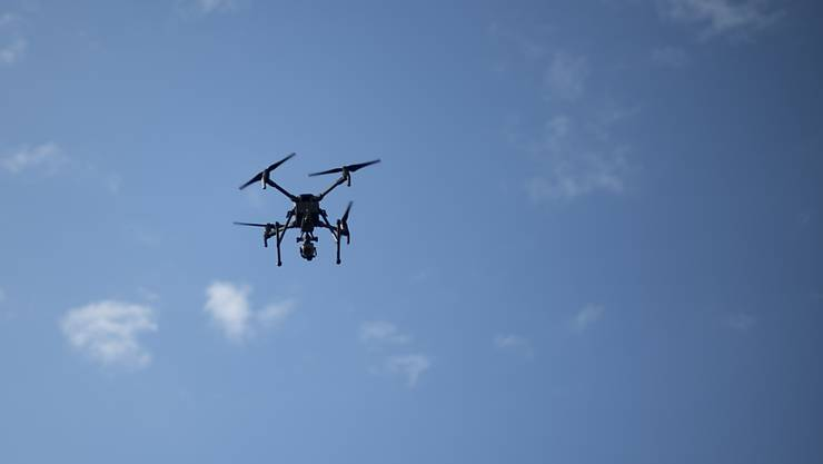 «Mir bleibt keine Wahl»: Frau Lüscher will sich von der Bank eine Drohne schenken lassen. (Symbolbild)