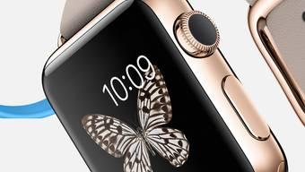 Sie wird goldig und auch teuer: die neue Apple Watch «Edition».