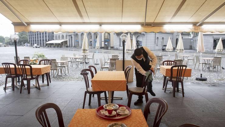 Seit Montag sind Geschäfte und Restaurants unter strengen Auflagen wieder offen. Der Lockdown hat sie finanziell hart getroffen.