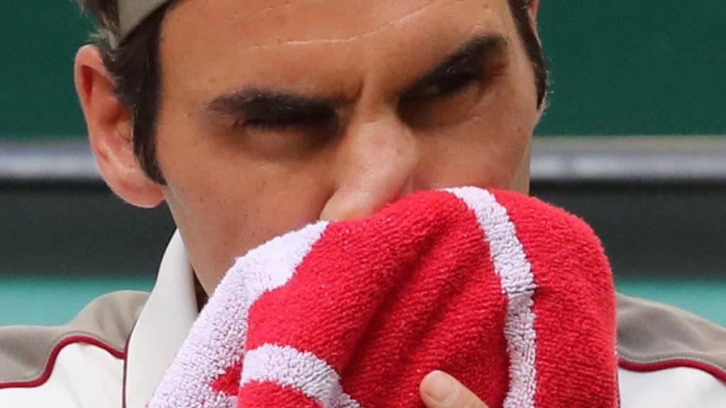 Roger Federer kämpft sich in Halle in den Halbfinal