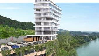 Rheinschloss in Waldshut (D) wird neu gebaut