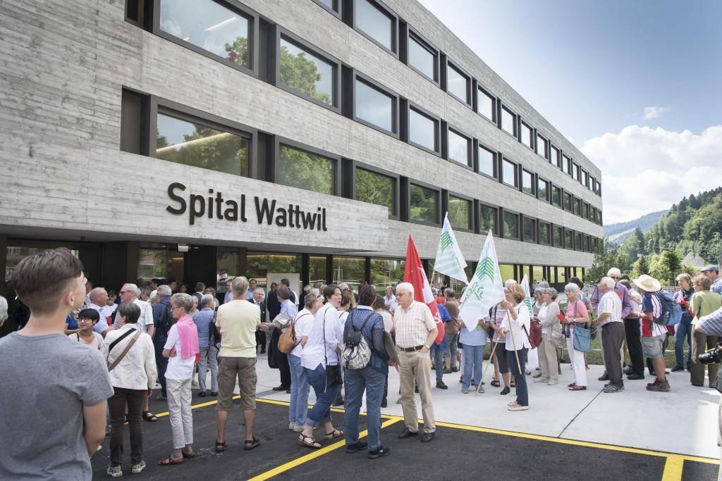 Einweihung Bettenstation Wattwil