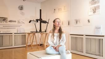 Marion Nyffenegger bespielt weiterhin das Marti-Schenk-Kabinett im Altbau des Kunsthauses.