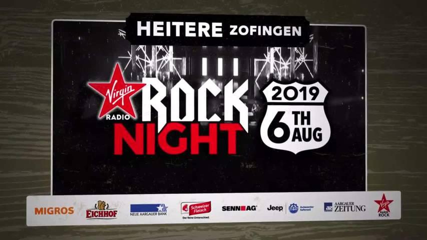 So tönt die Virgin Radio Rock Night