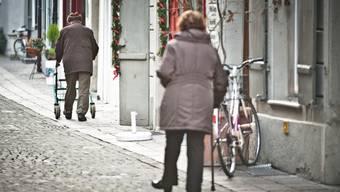 In den nächsten zehn Jahren wird die Zahl der über 80-Jährigen um 40 Prozent zunehmen. Annika Bütschi