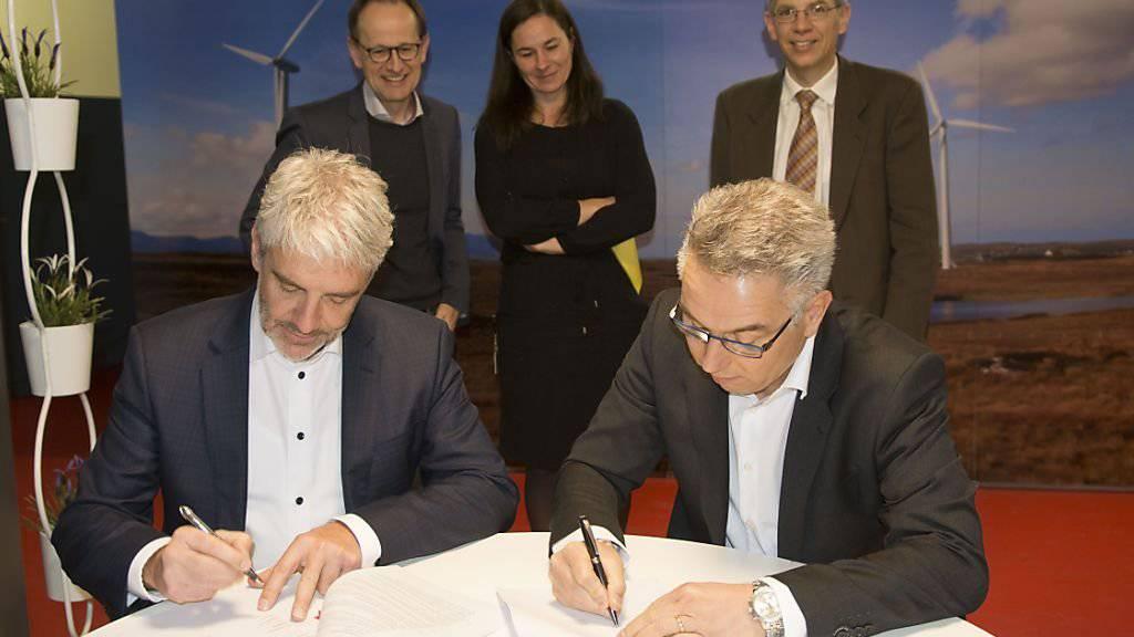 Der Fördervertrag ist unterzeichnet. Der Bund unterstützt das Geothermieprojekt in Vinzel VD mit 14,4 Millionen Franken.