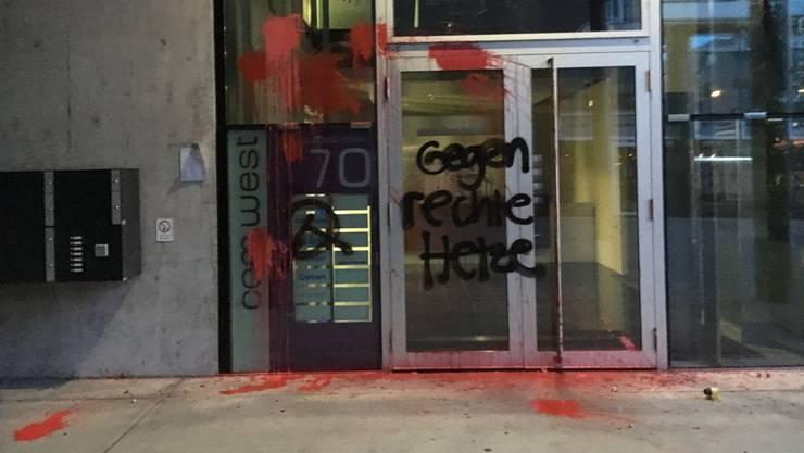 Unbekannte verwüsteten in der Nacht vom 8. auf den 9. Mai das Redaktionsgebäude der «Weltwoche» in Zürich. (Archivbild)