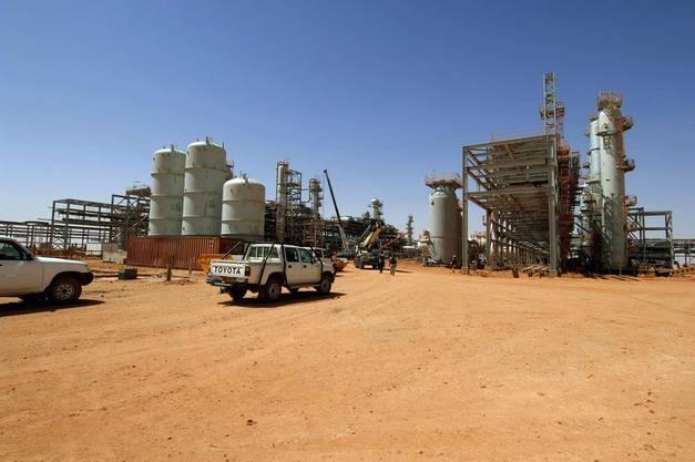 Das Gasfeld in Algerien