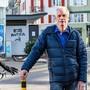 Martin Bischofberger, der die Abteilung Verkehrssicherheit bei der Basler Polizei leitet, sagt, dass die Sicherheit für Velofahrer kontinuierlich verbessert werden soll.