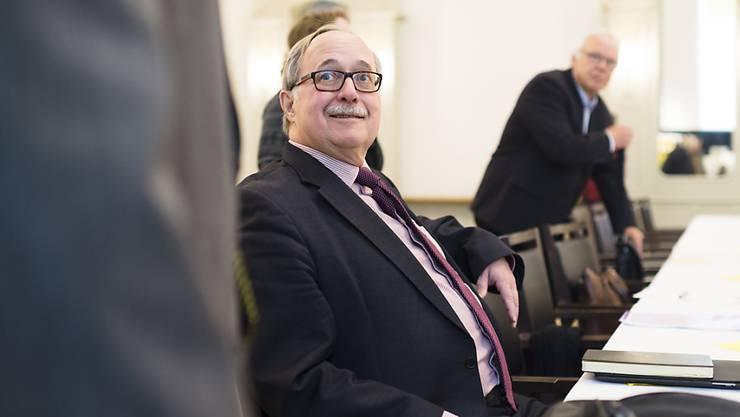 Alt Bundesrat Samuel Schmid tritt bei der Disziplinarkommission des IOC die Nachfolge des Franzosen Guy Canivet an