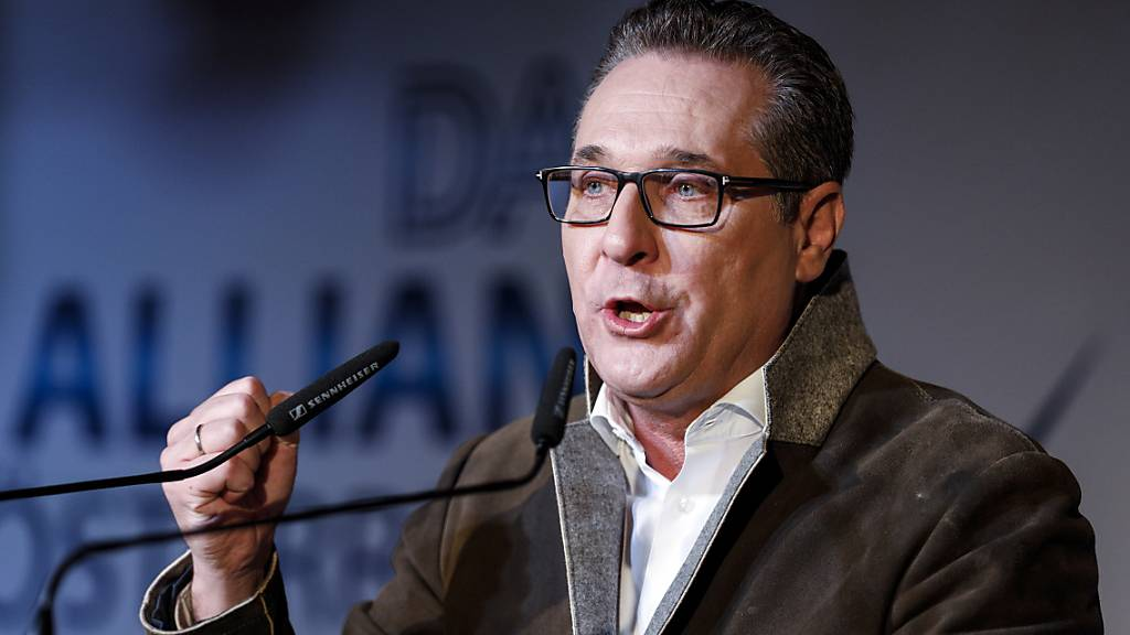 Ex-FPÖ-Chef Strache kandidiert als Bürgermeister von Wien