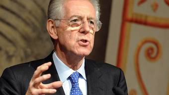 Mario Monti steht eine schwierige Aufgabe bevor