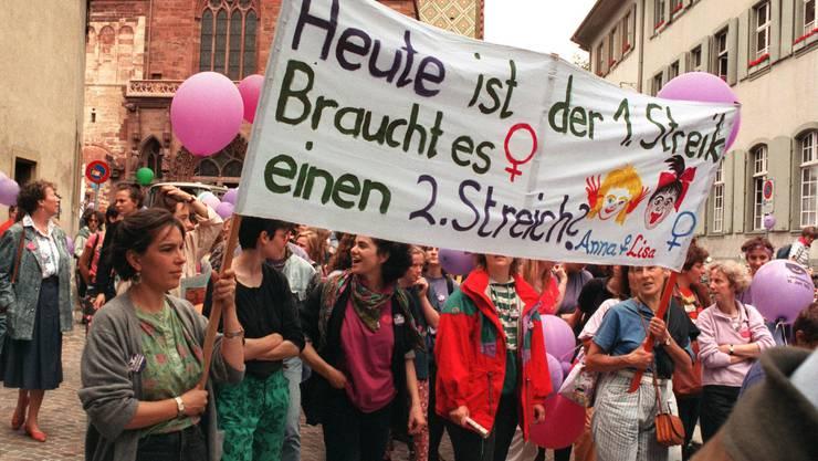 Ein Jahr später wurde die Abteilung für Gleichstellung von Frauen und Männern gegründet.