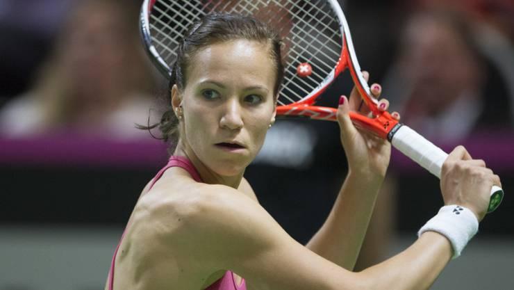 Viktorija Golubic ist wie in Luzern auch in Paris auf Erfolgskurs