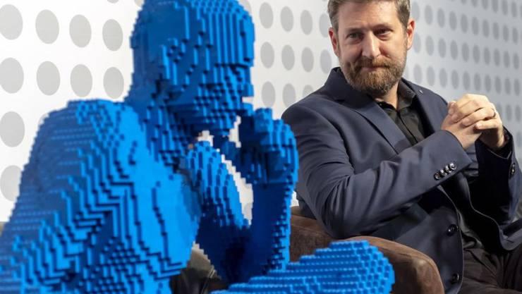 Nathan Sawaya verwandelt die Welt in Lego-Steine.