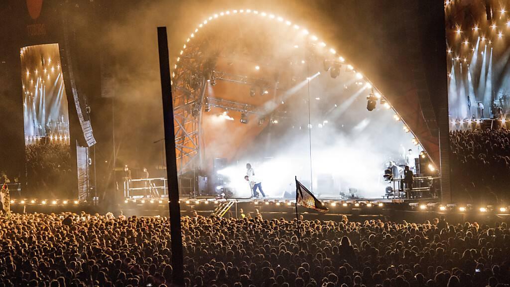 ARCHIV - Auch in diesem Jahr wird Dänemarks größtes Musikfest, das Roskilde Festival, ausfallen. Foto: Jens Noergaard Larsen/Ritzau Scanpix/AP/dpa