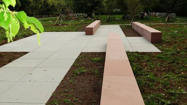 Voraussichtlich ab 2015 Bestattungen im neuen Gemeinschaftsgrab auf dem Friedhof in Frick.