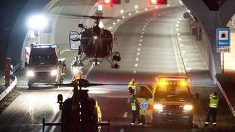 Auf der Heimreise von den Wintersportferien verunfallte ein Reisecar mit 52 Personen