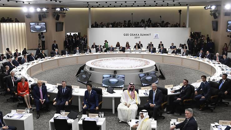 Zahlreiche Persönlichkeiten setzen sich für einen rascheren G20-Gipfel als das geplante Novembertreffen ein - der Grund ist die Coronavirus-Pandemie. (Symbolbild)