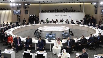 Impressionen vom letztjährigen G20-Gipfel. (Archiv)