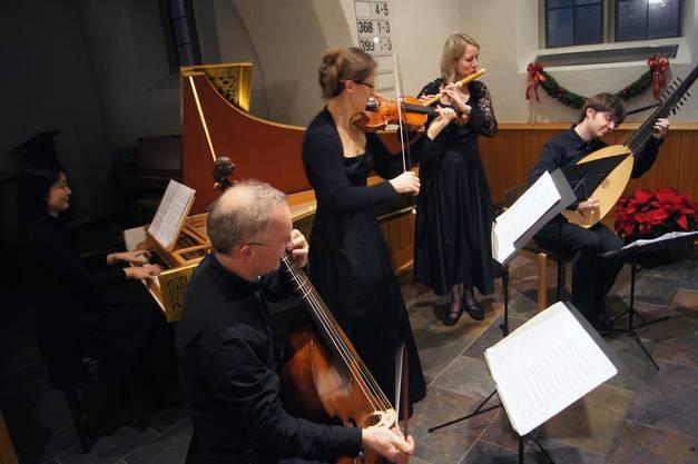 Das Ensemble Perle Baroque