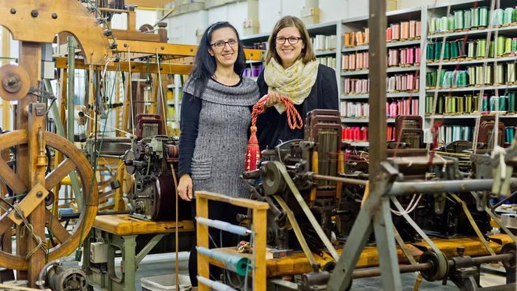 Von links: Geschäftsleiterinnen Imma Pichierri und Evelyn Gloor.