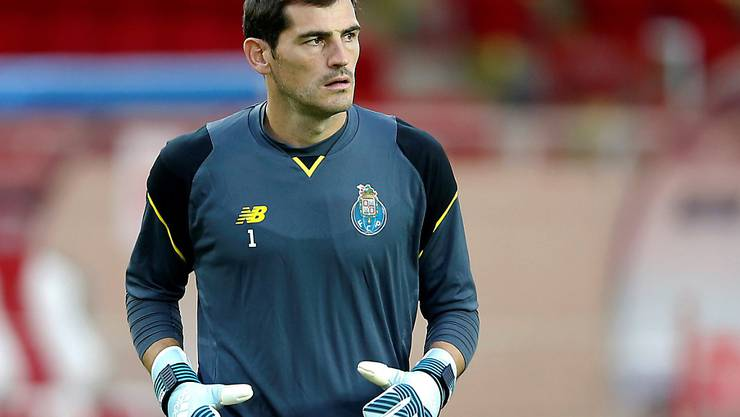 Iker Casillas im Dress des FC Porto (Archivbild)