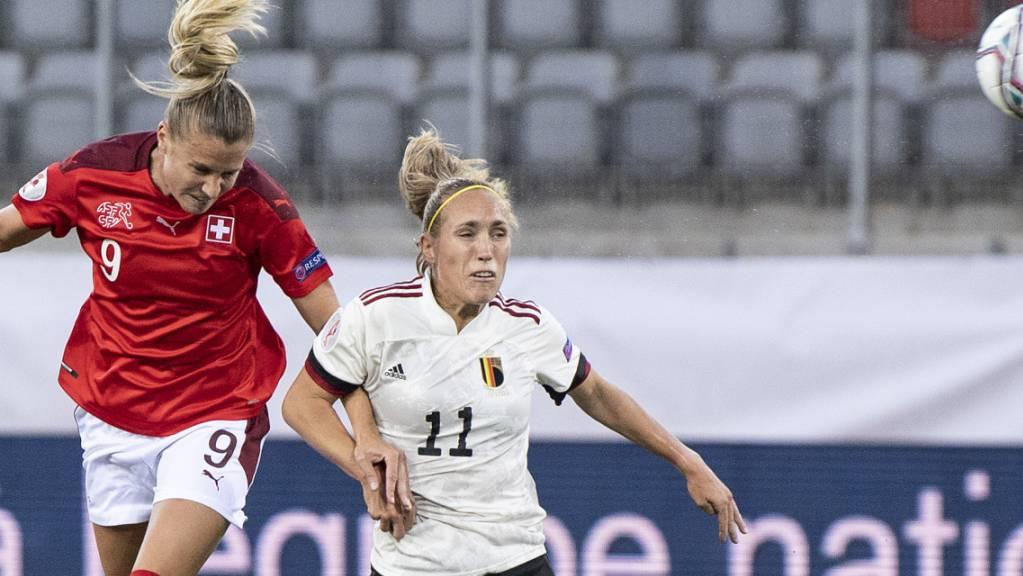 Ana Maria Crnogorcevic erzielte 60 Tore für die Schweizer Nationalmannschaft
