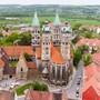 Der Naumburger Dom ist auf die Liste der Weltkulturerbestätten aufgenommen worden. (Archivbild)