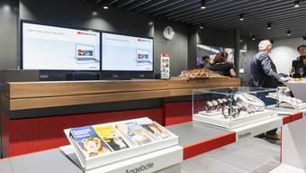Eröffnung des SBB-Reisezentrums Bahnhof Baden