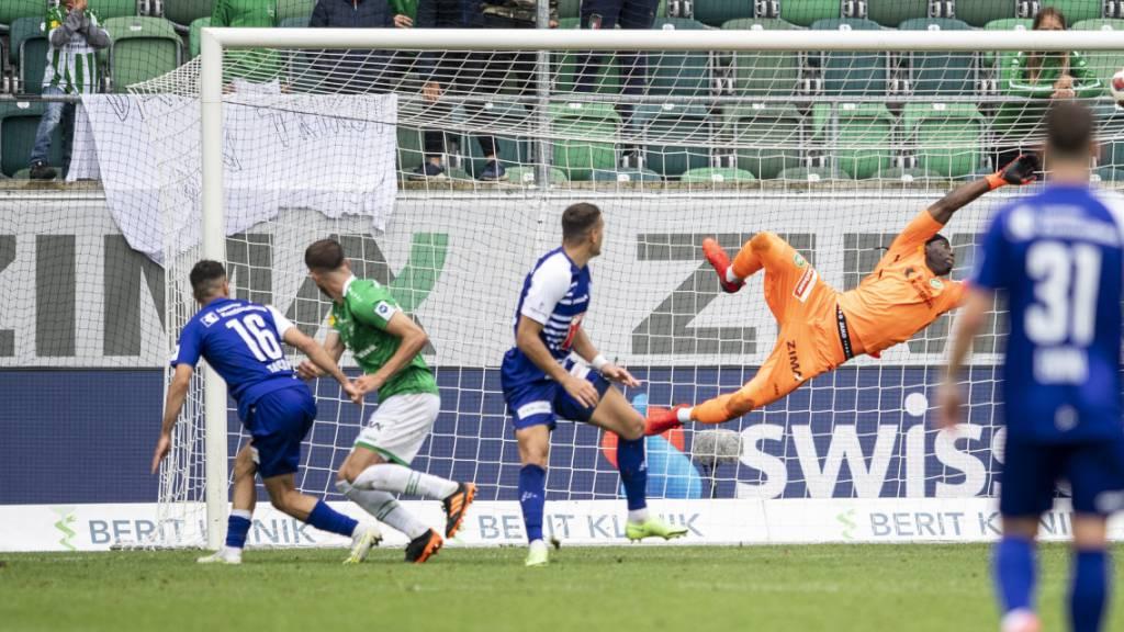 Unentschieden nach St. Gallens Startfurioso und Luzerns Endspurt