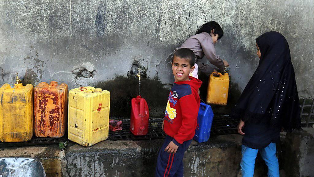 Prekäre Versorgungslage im Jemen: Mit den Kämpfen rund um die Hafenstadt Hudaida droht sich die Situation weiter zuzuspitzen. (Symbolbild)