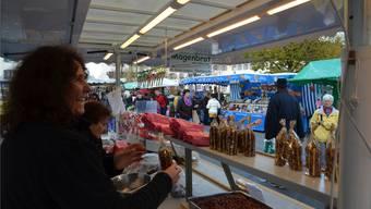 Martinimarkt in Muri lockt viele Besucher an