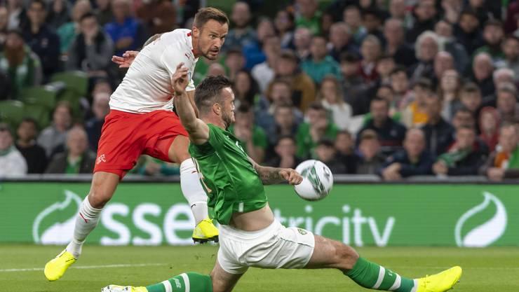 Kehrt nach dem Spiel in Irland zu seiner hochschwangeren Frau zurück: Haris Seferovic.