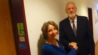 Sabine Brantschen und Markus Wagner arbeiten gut zusammen.
