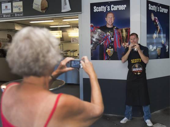 Die Fans mögen Scotty noch immer...